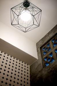 light in powder room