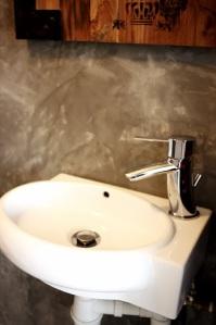 tap in powder Room
