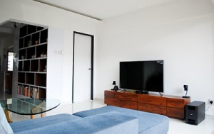 tv console and display shelf